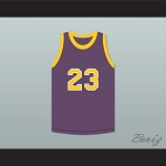 Martin Payne 23 Purple Basketball Jersey