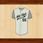 Mile High Roadrunners Saul Goodman Better Call Saul! Baseball Jersey by Morrissey&Macallan