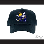 WHA Minnesota Fighting Saints Black Baseball Hat
