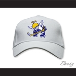 WHA Minnesota Fighting Saints White Baseball Hat