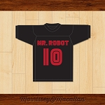 Elliot Alderson 10 Mr. Robot Football Jersey by Morrissey&Macallan