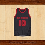 Elliot Alderson 10 Mr. Robot Basketball Jersey by Morrissey&Macallan