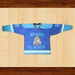Walter White Heisenberg 88 New Mexico Ice Breakers Away Hockey Jersey by Morrissey&Macallan