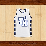 Lucas Scott 3 One Tree Hill Ravens Basketball Jersey by Morrissey&Macallan