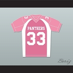 Taylor Kitsch Tim Riggins 33 Dillon Panthers Football Jersey Friday Night Lights Pink