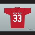 Al Bundy Polk High Football Jersey Married With Children Ed O' Neill Red
