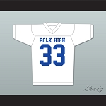 Al Bundy Polk High Football Jersey Married With Children Ed O' Neill White