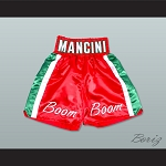 Ray 'Boom Boom' Mancini Red Boxing Shorts