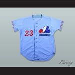 Rick Williams 23 Memphis Chicks Light Blue Baseball Jersey