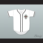 Mark Langston 12 Salamanders Baseball Jersey 1st Annual Rock N' Jock Diamond Derby