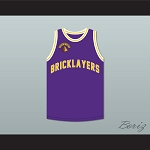 Morris Chestnut 8 Bricklayers Basketball Jersey 5th Annual Rock N' Jock B-Ball Jam 1995