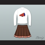 The Waterboy SCLSU Mud Dogs Long Sleeve Cheerleader Uniform