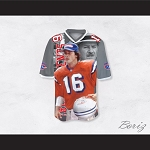 Shane Falco 16 Sentinels Coach Scene Football Jersey The Replacements
