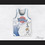 Bugs Bunny 1 Tune Squad Dye Sub Graphics Basketball Jersey