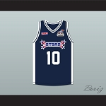 Chamique 'Mique' Holdsclaw 10 Stars Basketball Jersey Rock N' Jock All Star Jam 2002