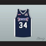 Paul Pierce 34 Stars Basketball Jersey Rock N' Jock All Star Jam 2002