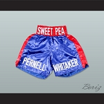 Pernell 'Sweet Pea' Whitaker Blue Boxing Shorts