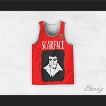 Tony Montana 11 Scarface Red Basketball Jersey