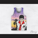 Tony Montana 11 Scarface Beach Scene Basketball Jersey