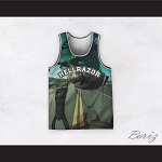 Tupac Shakur 6 Hellrazor Country Road Basketball Jersey