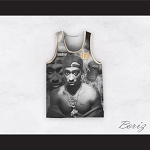Tupac Shakur 01 Outlaws Advisory Tupac/Biggie Basketball Jersey