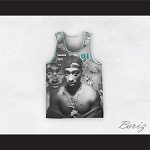 Tupac Shakur 01 Outlaws Advisory Diamonds Design Basketball Jersey