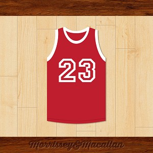 Iconic Number 23 Basketball Jersey by Morrissey&Macallan