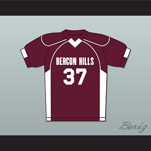 Jackson Whittemore 37 Beacon Hills Cyclones Lacrosse Jersey Teen Wolf Deluxe Maroon