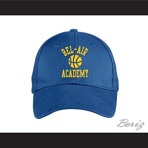 Bel-Air Academy Basketball Blue Baseball Hat The Fresh Prince of Bel-Air