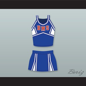 Denise Richards Debra Blue Mountain State Goats Cheerleader Uniform
