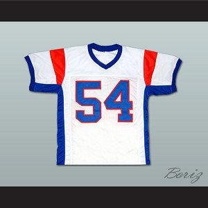 Thad Castle 54 Blue Mountain State Goats Football Jersey White