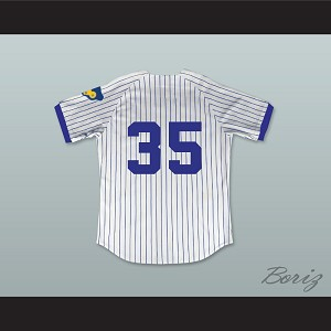 Richard Pryor Montgomery Brewster 35 Pinstriped Baseball Jersey Brewster's Millions Richard Pryor Montgomery Brewster 35 Pinstriped Baseball Jersey Brewster's Millions
