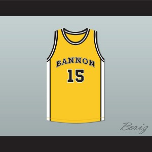 Jake Spencer 15 Bannon High School Basketball Jersey Jeepers Creepers 2