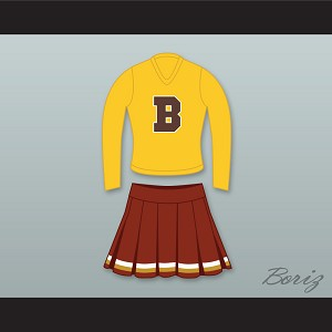 Bel-Air Academy High School Cheerleader Uniform The Fresh Prince of Bel-Air