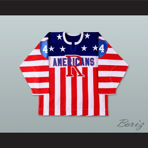 Brian Campbell 44 Rochester Americans Hockey Jersey