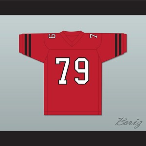 Tom Hodges Bruno 79 Park High School Pirates Football Jersey Lucas