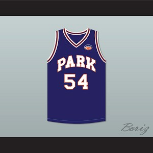 Caron Butler 54 Racine Park Panthers Basketball Jersey with Patch