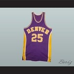 1973-74 DENVER BASKETBALL JERSEY AWAY ANY PLAYER OR NUMBER