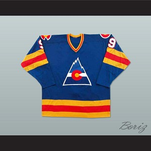 Don Lever 9 Defunct Team Hockey Jersey