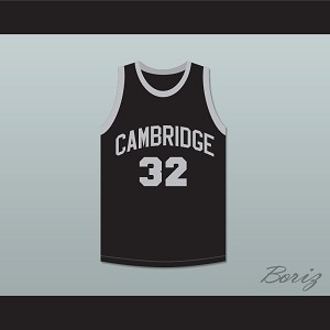 Patrick Ewing 32 Cambridge Rindge and Latin School Falcons Black Basketball Jersey