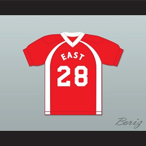 East/West College Bowl D'Isiah T Billings Clyde 28 East Football Jersey Key & Peele (COPY)