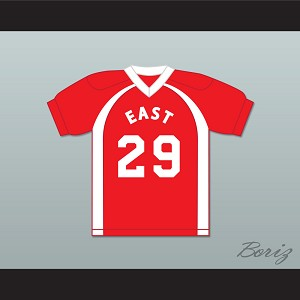 East/West College Bowl Javaris Jamar Javarison-Lamar 29 East Football Jersey Key & Peele