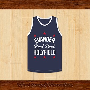 Evander 'Real Deal' Holyfield Basketball Jersey by Morrissey&Macallan