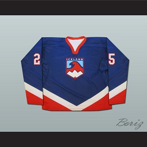 Team Iceland Hockey Jersey