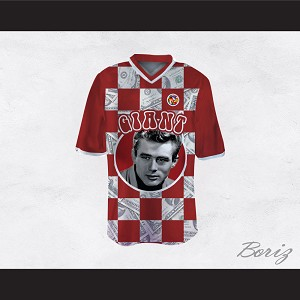 James Dean 08 Giant Red Checkered Football Jersey