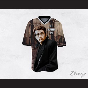 James Dean 08 Hill Number One Streets Football Jersey