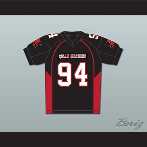 94 Kass Mean Machine Convicts Football Jersey Includes Patches