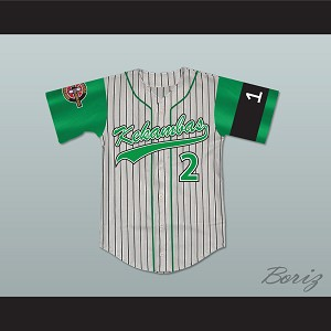 Player 2 Kekambas Baseball Jersey Includes ARCHA Patch and G-Baby Memorial Sleeve