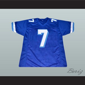 Lance Harbor 7 West Canaan Coyotes Football Jersey Varsity Blues Paul Walker