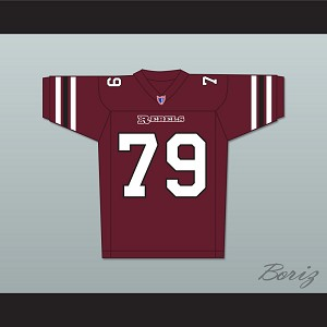 Jamal Duff Clarence Monroe 79 Boston Rebels Home Football Jersey Includes League Patch